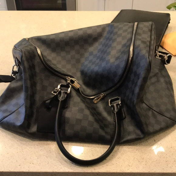 43f52dc653b1 Louis Vuitton Other - Brand New Louis Vuitton Roadster Duffle Bag Black